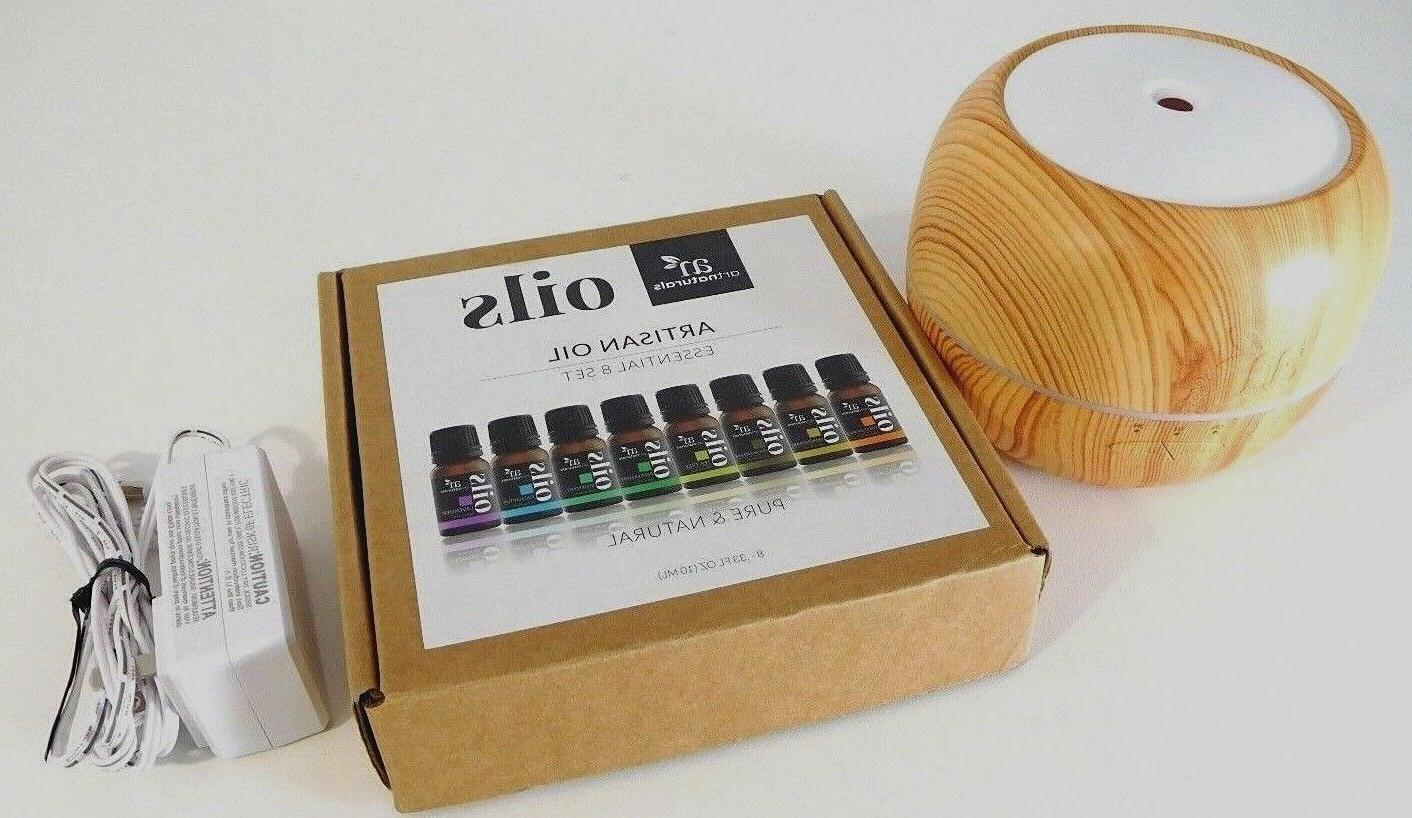 Artnaturals Oil Diffuser with 5 Artisan Essential Oils