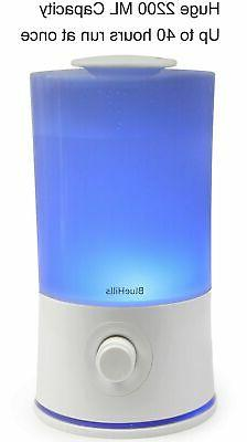 BlueHills Premium 2000 ML XL Large Essential Oil Diffuser Ar