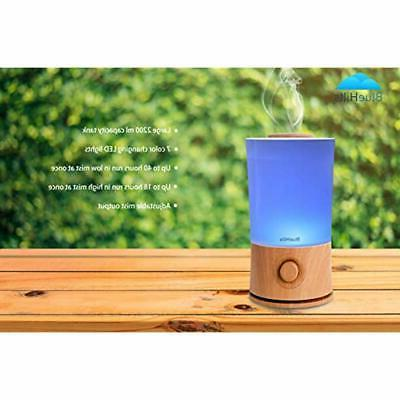 Premium 2000 ML XL Large Essential Diffuser Aromatherapy Humidifier For