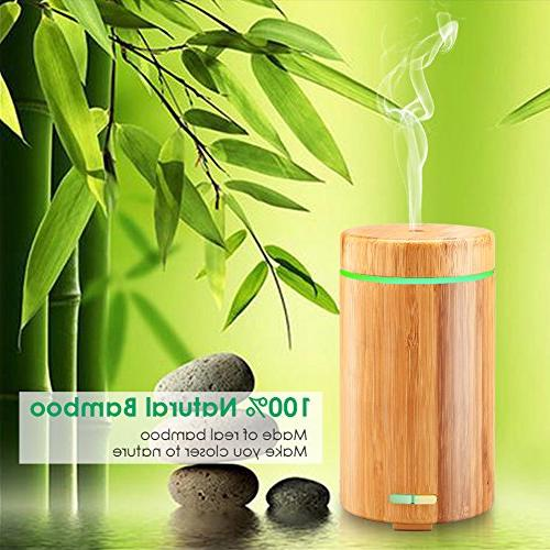 URPOWER Oil Diffuser Diffusers Aroma Diffuser Modes, 7 for Office