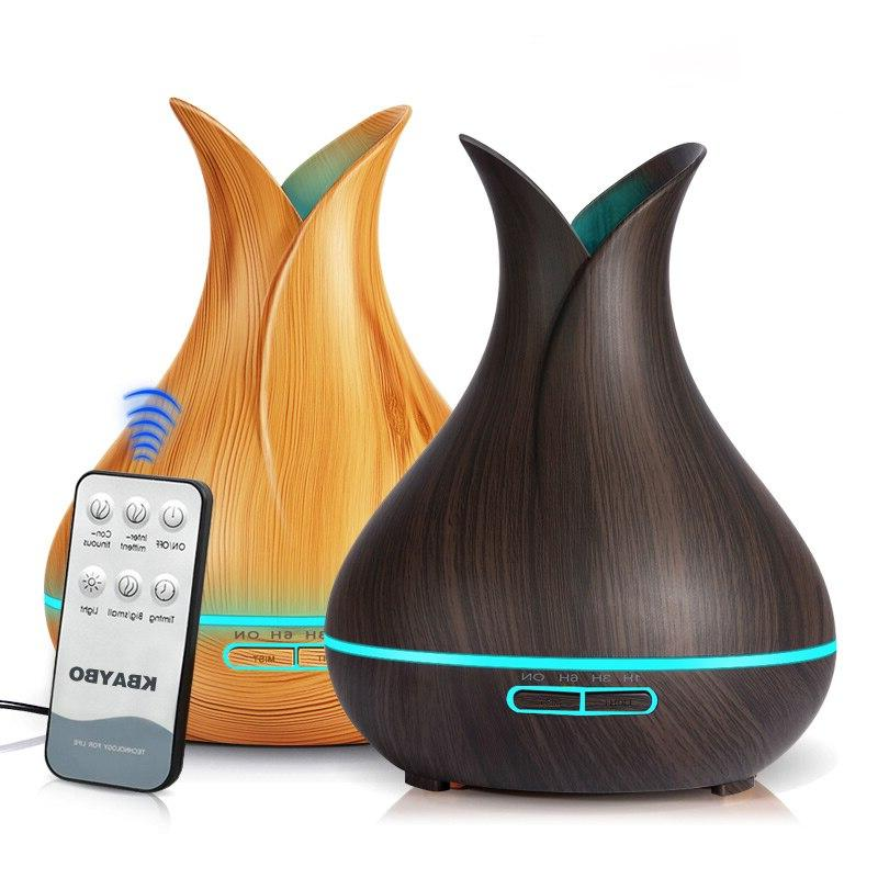 ultrasonic air humidifier 400ml aroma essential font