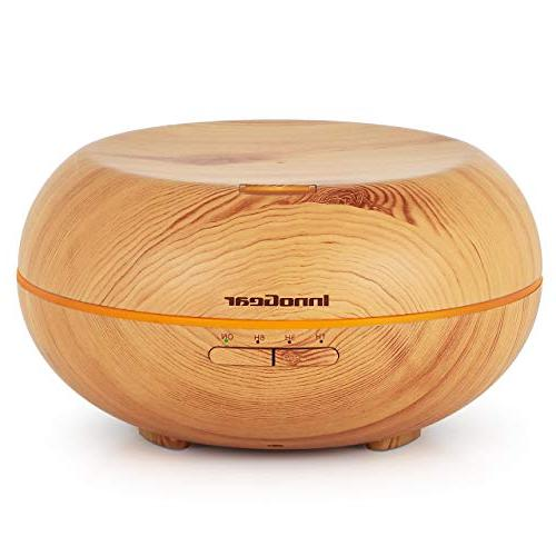 upgraded aromatherapy diffuser wood grain