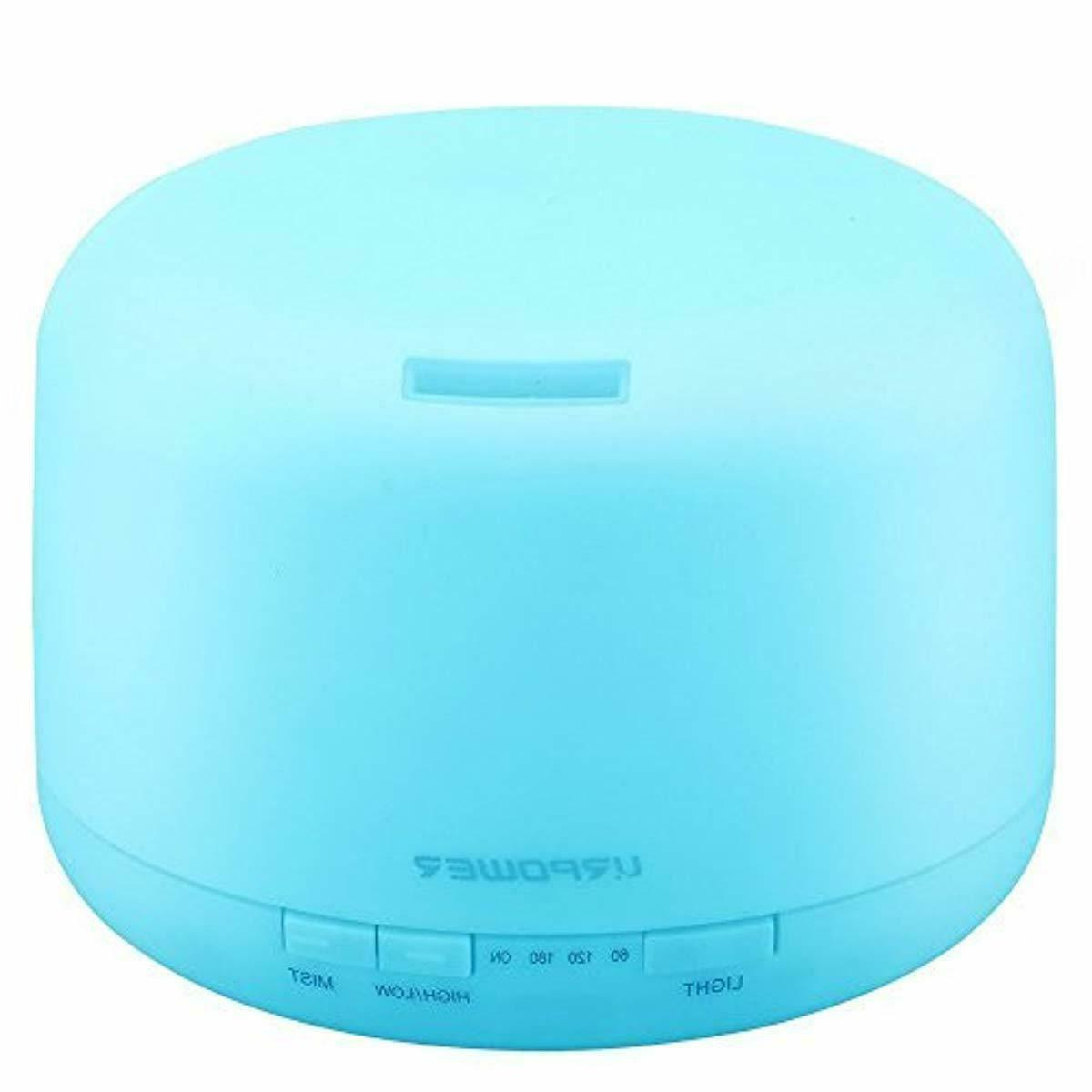 urpower 500ml square essential oil diffuser humidifiers