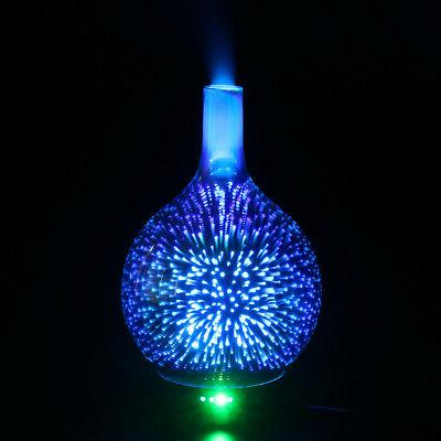 US 3D Colorful Aromatherapy Oil Diffuser
