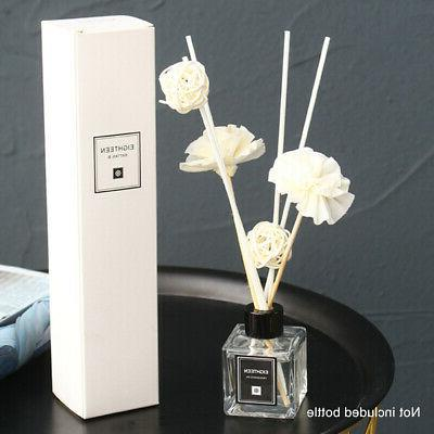 OIL DIFFUSER ESSENTIAL OIL AROMA REED STICKS FRAGRANCE HOME
