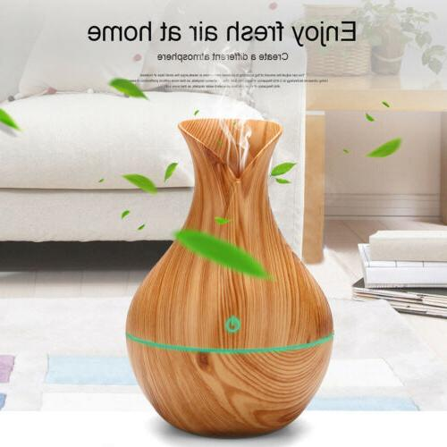 USA Humidifier Essential Oil Diffuser Aromatherapy
