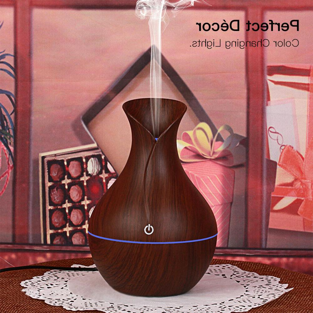 USB Essential Oil Aroma Diffuser Ultrasonic Humidifier