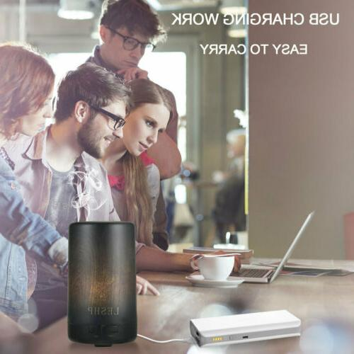 USB Diffuser Essential Humidifier Aromatherapy