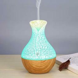 LED Essential Oil Ultrasonic Humidifier Air Aroma Diffuser P