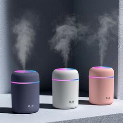 LED LIGHT UP Air Oil Aroma Diffuser Humidifier Electric Esse