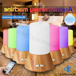 LED Ultrasonic Air Humidifier Essential Oil Aroma Diffuser w