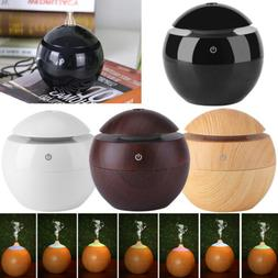 LED Ultrasonic Aroma Diffuser USB Essential Oil Humidifier A