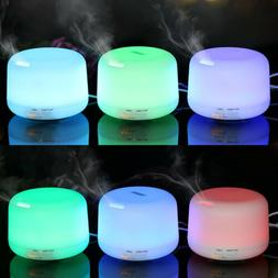 LED Ultrasonic Essential Oil Humidifier Diffuser Air Purifie