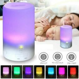LED USB Essential Oil Ultrasonic Air Humidifier Aroma therap
