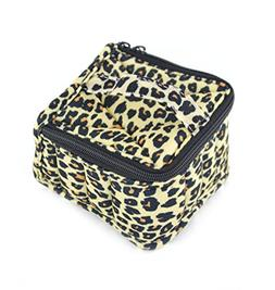 SAMYO 16-bottle Leopard Soft Essential Oils Carrying Cases A