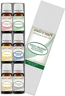 Weight loss set Essential Oil Variety set Kit - 6 Pack - 100