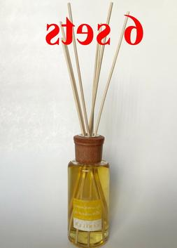 LOT  MOOD THERAPY Fragrance Oil Rattan Reed Diffuser Sets VA
