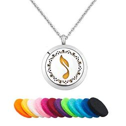 Third Time Charm Love Music Necklace For Essential Oil Diffu