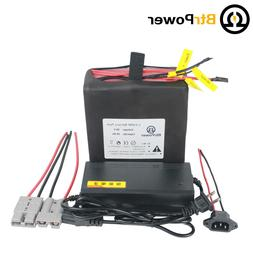 36V 10ah Rechargeable LiFePO4 Lithium Battery Pack For Elect