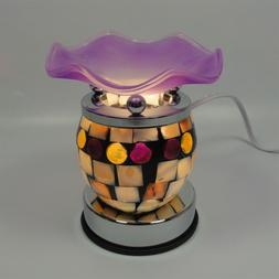 Mosaic Touch Electric Scent Oil Diffuser Warmer Burner Aroma