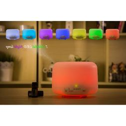 Multi-Color Humidifier Fragrance Machine <font><b>Electric</