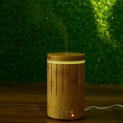 Natural Bamboo Products Essential Oil Diffuser Ultrasonic Hu