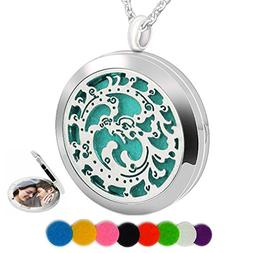 Essential Oil Necklace Aromatherapy Diffuser Perfume Pendant