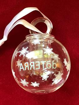 New doTerra Essential Oil Holiday Ornaments 6 different Type