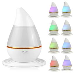 New LED USB Essential Oil Ultrasonic Air Humidifier Aroma Th