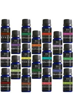 NEW RADHA BEAUTY TOP 18 ESSENTIAL OILS 100% PURE THERAPEUTIC