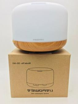 Urpower OD-501 Aromatherapy Oil Diffuser 500ml Color Changin