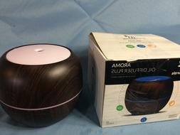 ArtNaturals Oil Diffuser Darkwood Ultrasonic Humidifier Arom