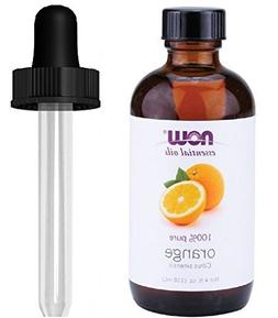 NOW Foods Orange Oil Sweet, 4 Ounce 1 Glass Dropper