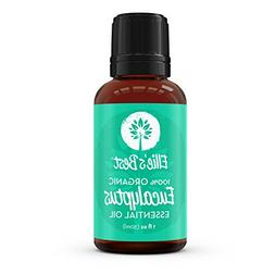 Organic Eucalyptus Essential Oil - Better than Therapeutic G