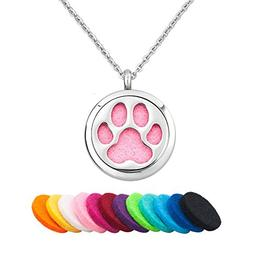 Third Time Charm Pet Paw Aromatherapy Essential Oil Necklace
