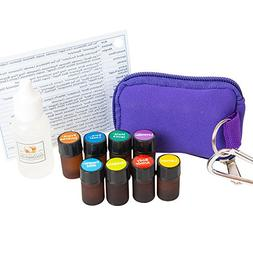 Essential Oil Pocket Doctor 1 Keychain Kit w/ Frankincense,