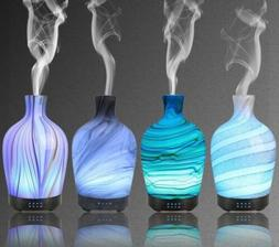 Quiet Humidifier Aroma Therapy Glass Essential Oil Diffuser