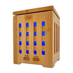 Real Bamboo Essential Oil Ultrasonic Aromatherapy Diffuser 2