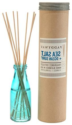 Paddywax Relish Collection Reed Oil Diffuser Set, Ocean Surf