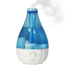 Sea Jewel Humidifier Ultrasonic Cool & Warm Mist - 3.2 liter