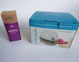 SpaRoom Aromafier Essential Oil Diffuser & 1oz Woolzies Lave