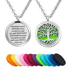 Moonlight Collection Strong Tree of Life Engraved Quote Mess