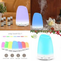 Ultrasonic Aromatherapy 7LED Air Defuser Essential Oil Aroma
