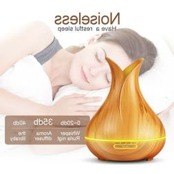 Ultrasonic Aromatherapy Essential Oil Diffuser Cool Mist Qui