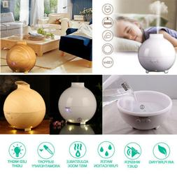 Ultrasonic Large Essential Oil Diffuser Aromatherapy 600ml C