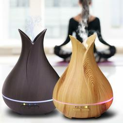 Ultrasonic LED Colorful Lamp Timer Air Humidifier Essential