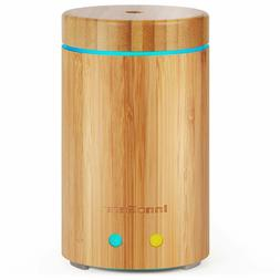 InnoGear Upgraded Real Bamboo Essential Oil Diffuser Cool Mi