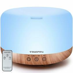 URPOWER 1000ml Essential Oil Diffuser Humidifiers Remote Con