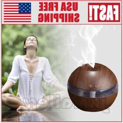 USB LED Purifier Aroma Essential Diffuser Air Aromatherapy O