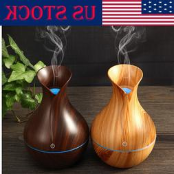 USB LED Purifier Ultrasonic Aroma Oil Diffuser Air Humidifie